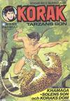 Cover for Korak (Williams Förlags AB, 1966 series) #13/1975