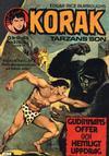 Cover for Korak (Williams Förlags AB, 1966 series) #10/1976