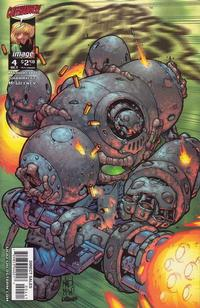 Cover Thumbnail for Battle Chasers (Image, 1998 series) #4 [Calibretto Cover]