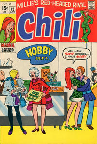 Cover Thumbnail for Chili (Marvel, 1969 series) #12