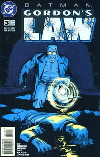 Cover Thumbnail for Batman: Gordon's Law (DC, 1996 series) #3