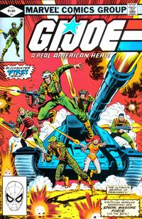 Cover Thumbnail for G.I. Joe, A Real American Hero (Marvel, 1982 series) #1 [Direct Edition]