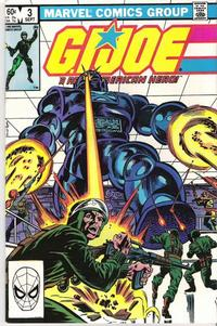 Cover Thumbnail for G.I. Joe, A Real American Hero (Marvel, 1982 series) #3 [Direct Edition]