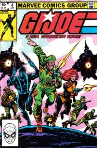 Cover Thumbnail for G.I. Joe, A Real American Hero (Marvel, 1982 series) #4 [Direct Edition]