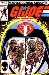 Cover Thumbnail for G.I. Joe, A Real American Hero (Marvel, 1982 series) #6 [Second Print]