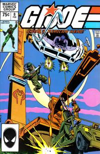Cover Thumbnail for G.I. Joe, A Real American Hero (Marvel, 1982 series) #8 [Second Print]
