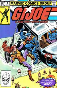 Cover Thumbnail for G.I. Joe, A Real American Hero (Marvel, 1982 series) #9 [Direct Edition]