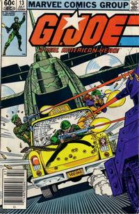 Cover for G.I. Joe, A Real American Hero (Marvel, 1982 series) #13 [Direct Edition]