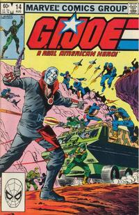 Cover Thumbnail for G.I. Joe, A Real American Hero (Marvel, 1982 series) #14 [Direct Edition]