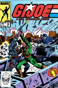 Cover Thumbnail for G.I. Joe, A Real American Hero (Marvel, 1982 series) #16 [Direct Edition]