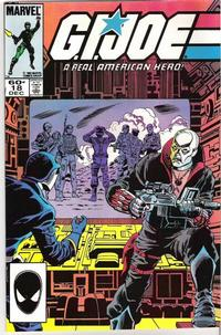 Cover Thumbnail for G.I. Joe, A Real American Hero (Marvel, 1982 series) #18 [Second Print]