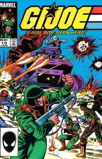 Cover Thumbnail for G.I. Joe, A Real American Hero (Marvel, 1982 series) #19 [Second Print]