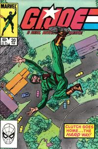 Cover Thumbnail for G.I. Joe, A Real American Hero (Marvel, 1982 series) #20 [Direct Edition]