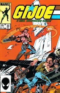 Cover Thumbnail for G.I. Joe, A Real American Hero (Marvel, 1982 series) #30 [Direct Edition]