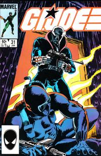 Cover Thumbnail for G.I. Joe, A Real American Hero (Marvel, 1982 series) #31 [Direct Edition]