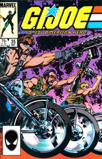 Cover Thumbnail for G.I. Joe, A Real American Hero (Marvel, 1982 series) #35 [Direct Edition]