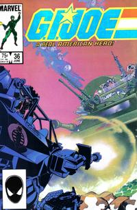 Cover Thumbnail for G.I. Joe, A Real American Hero (Marvel, 1982 series) #36 [Direct Edition]