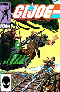 Cover Thumbnail for G.I. Joe, A Real American Hero (Marvel, 1982 series) #37 [Direct Edition]