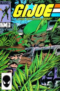 Cover Thumbnail for G.I. Joe, A Real American Hero (Marvel, 1982 series) #39 [Direct Edition]