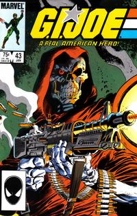 Cover Thumbnail for G.I. Joe, A Real American Hero (Marvel, 1982 series) #43 [Direct Edition]