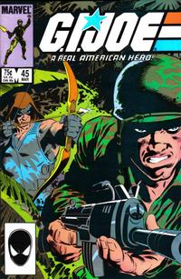 Cover Thumbnail for G.I. Joe, A Real American Hero (Marvel, 1982 series) #45 [Direct Edition]
