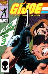 Cover Thumbnail for G.I. Joe, A Real American Hero (Marvel, 1982 series) #48 [Direct Edition]