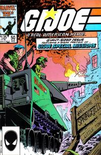 Cover Thumbnail for G.I. Joe, A Real American Hero (Marvel, 1982 series) #50 [Direct Edition]