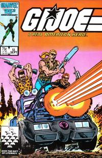 Cover Thumbnail for G.I. Joe, A Real American Hero (Marvel, 1982 series) #51 [Direct Edition]