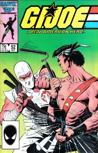 Cover Thumbnail for G.I. Joe, A Real American Hero (Marvel, 1982 series) #52 [Direct Edition]