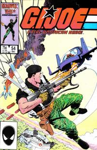 Cover Thumbnail for G.I. Joe, A Real American Hero (Marvel, 1982 series) #54 [Direct Edition]