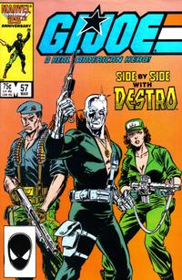 Cover Thumbnail for G.I. Joe, A Real American Hero (Marvel, 1982 series) #57 [Direct Edition]
