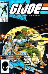 Cover Thumbnail for G.I. Joe, A Real American Hero (Marvel, 1982 series) #61 [Direct Edition]