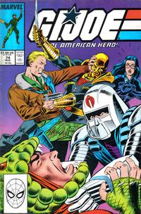 Cover Thumbnail for G.I. Joe, A Real American Hero (Marvel, 1982 series) #74 [Direct Edition]