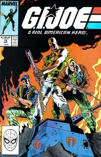 Cover Thumbnail for G.I. Joe, A Real American Hero (Marvel, 1982 series) #76 [Direct Edition]