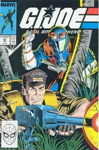 Cover Thumbnail for G.I. Joe, A Real American Hero (Marvel, 1982 series) #82 [Direct Edition]