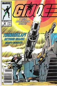 Cover Thumbnail for G.I. Joe, A Real American Hero (Marvel, 1982 series) #92 [Newsstand Edition]