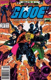 Cover Thumbnail for G.I. Joe, A Real American Hero (Marvel, 1982 series) #117 [Newsstand Edition]