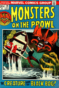 Cover Thumbnail for Monsters on the Prowl (Marvel, 1971 series) #19