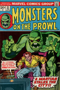 Cover Thumbnail for Monsters on the Prowl (Marvel, 1971 series) #21