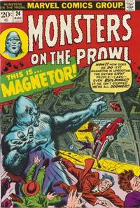 Cover Thumbnail for Monsters on the Prowl (Marvel, 1971 series) #24