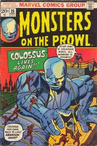 Cover Thumbnail for Monsters on the Prowl (Marvel, 1971 series) #25