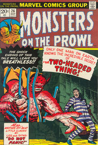 Cover Thumbnail for Monsters on the Prowl (Marvel, 1971 series) #26