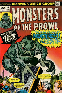 Cover Thumbnail for Monsters on the Prowl (Marvel, 1971 series) #28
