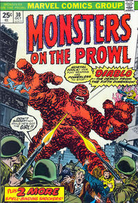 Cover Thumbnail for Monsters on the Prowl (Marvel, 1971 series) #30
