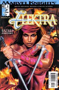 Cover Thumbnail for Elektra (Marvel, 2001 series) #3