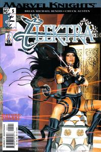 Cover Thumbnail for Elektra (Marvel, 2001 series) #5