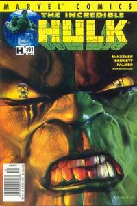 Cover Thumbnail for Incredible Hulk (Marvel, 2000 series) #31 (505) [Newsstand Edition]