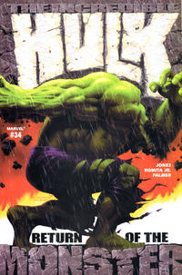 Cover Thumbnail for Incredible Hulk (Marvel, 2000 series) #34 [Direct Edition]