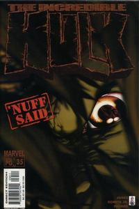 Cover Thumbnail for Incredible Hulk (Marvel, 2000 series) #35