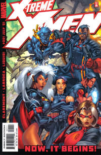 Cover Thumbnail for X-Treme X-Men (Marvel, 2001 series) #1 [Direct Edition]